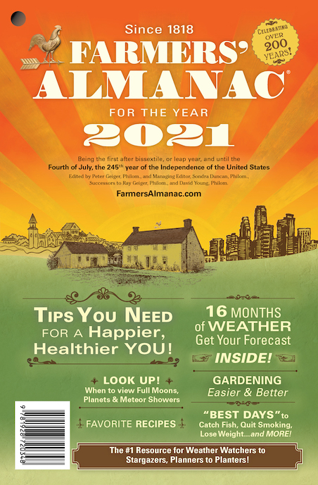 Farmers Almanac 2021 Edition