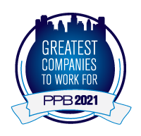2021 PPB Greatest Companies to Work for Logo
