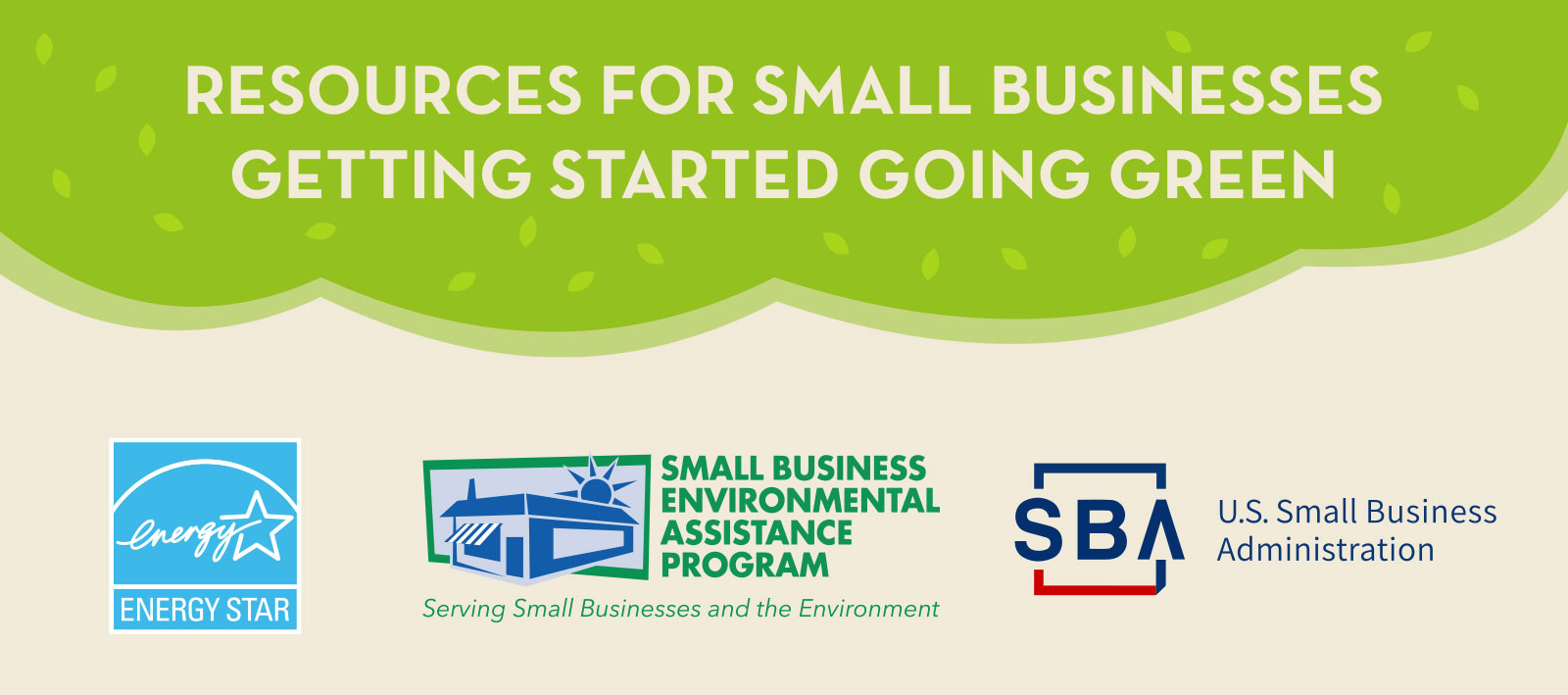 Green Business Resources Infographic