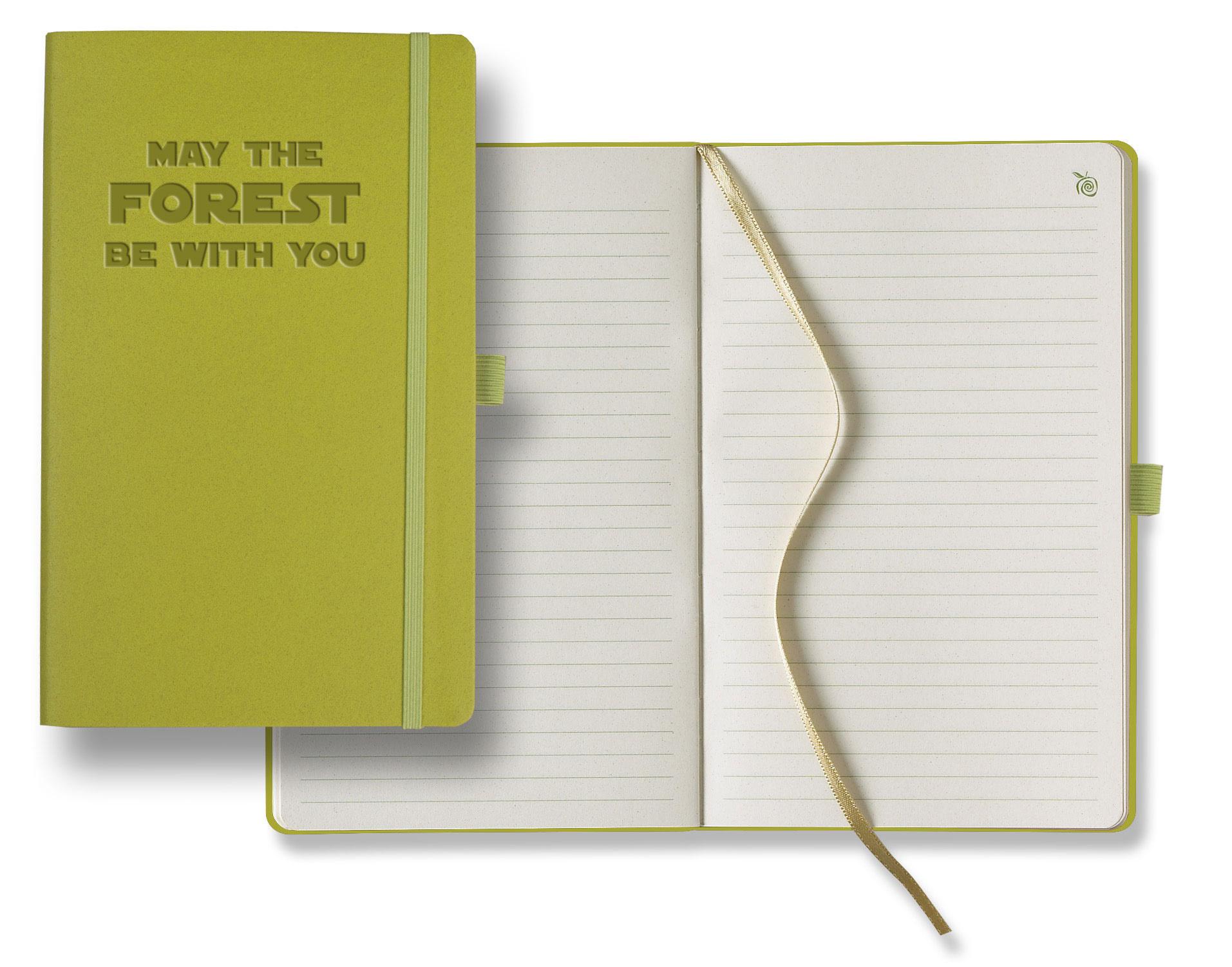earth friendly apple peel journal