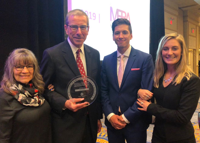 Geiger is the recipient of environmental leadership award
