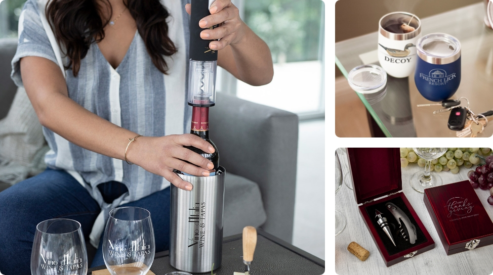 8. Closing gift ideas for wine connoisseurs