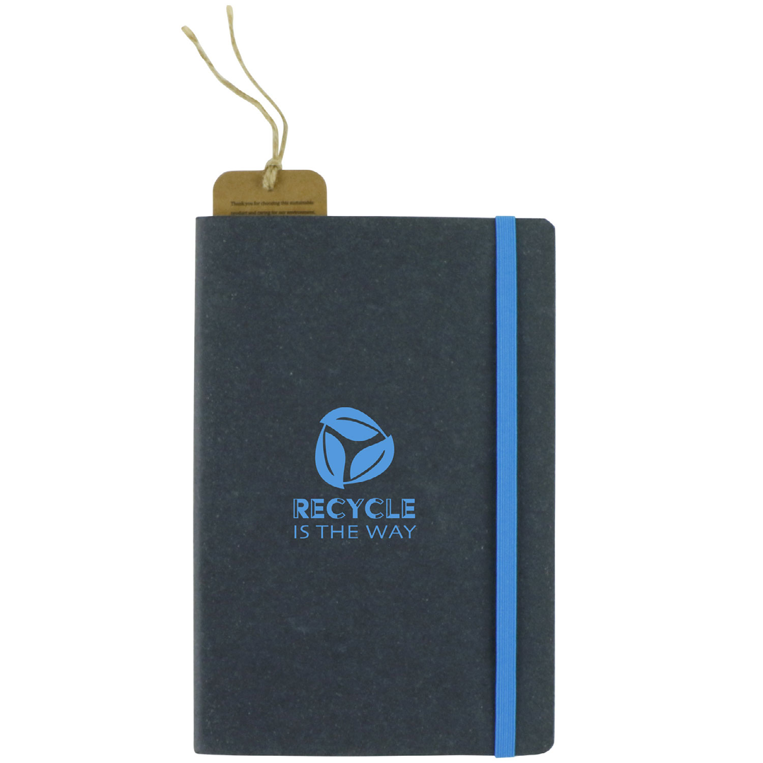 recycled bonded leather notebook
