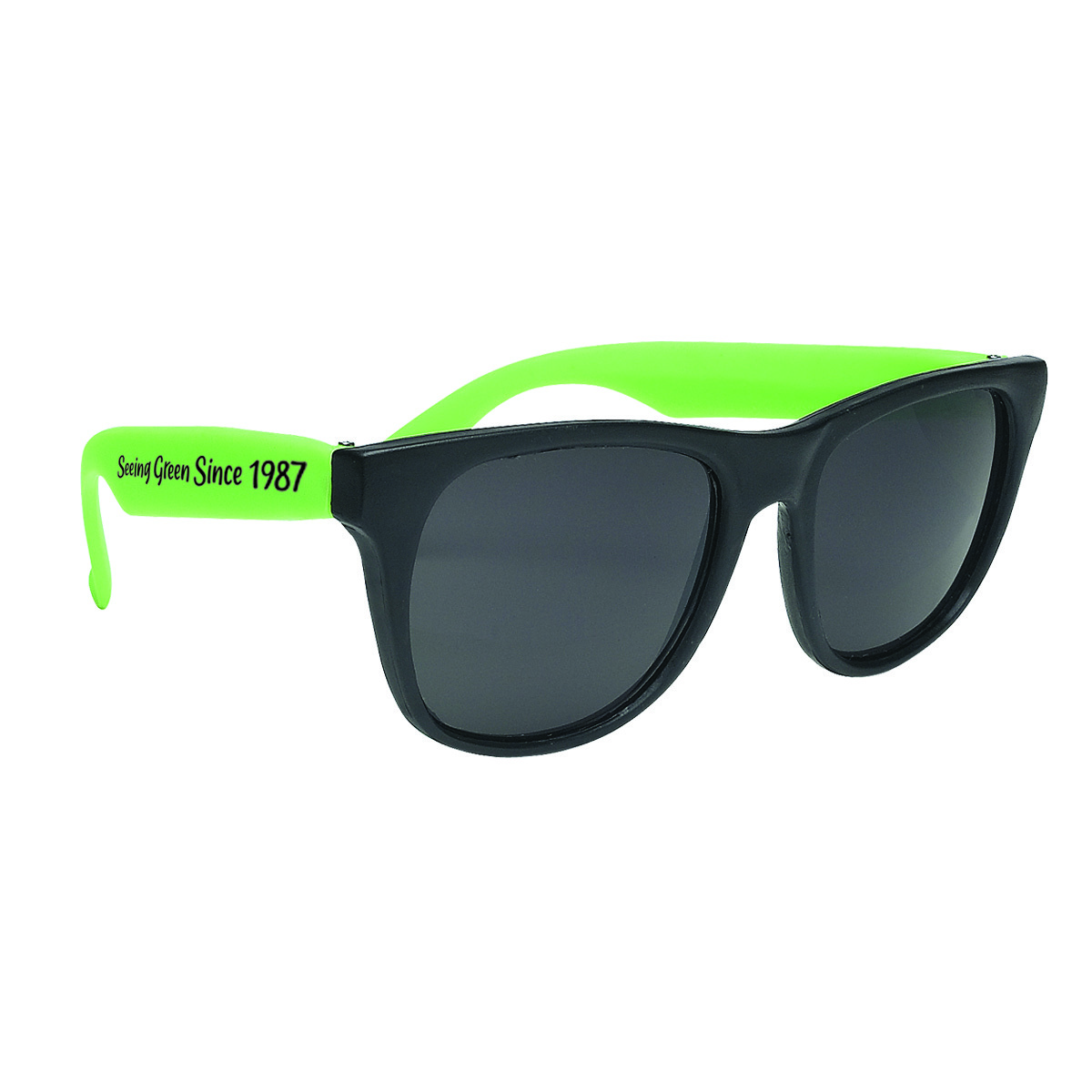 recycled sunglasses with logo
