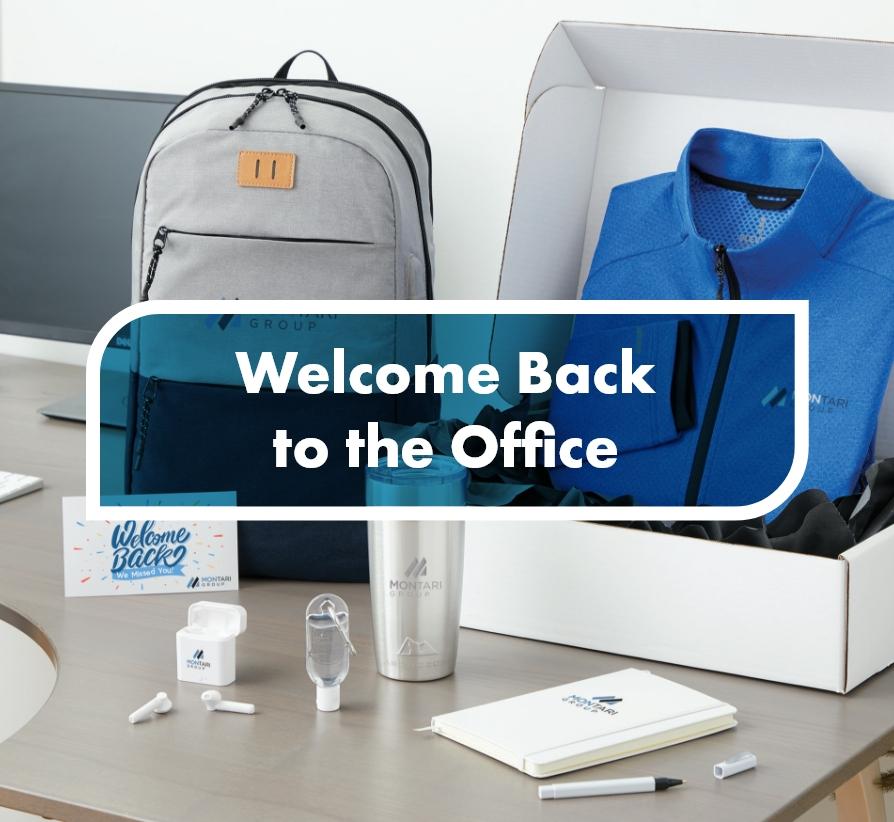 employee welcome back kit