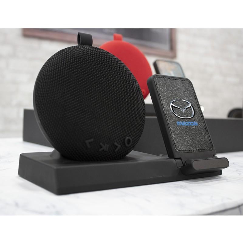 Desktop Bluetooth Speaker and Wireless Charging Station