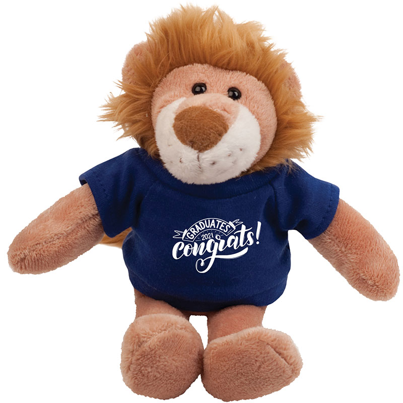 Plush tiger mascot