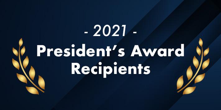 Presidents Award Recipients
