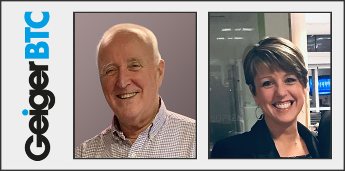 Frank Murphy and Vicky Kinasz from GeigerBTC