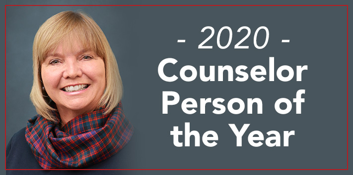 Lantz Counselor Person of the Year 2020