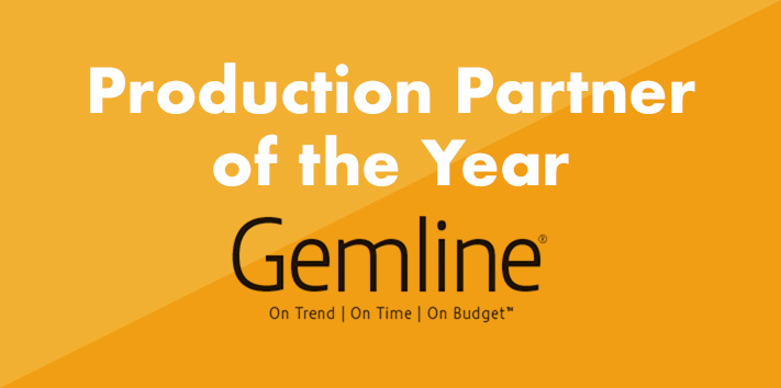 Production Partner of the Year for 2020 is Gemline